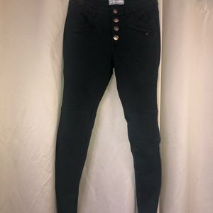 Free People black skinny pants